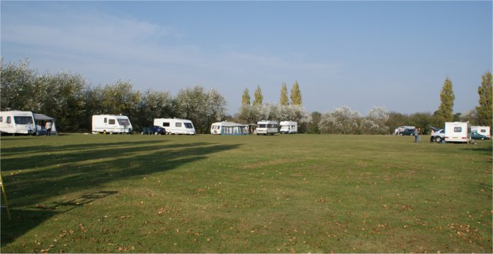 Suffolk caming with spacious pitches